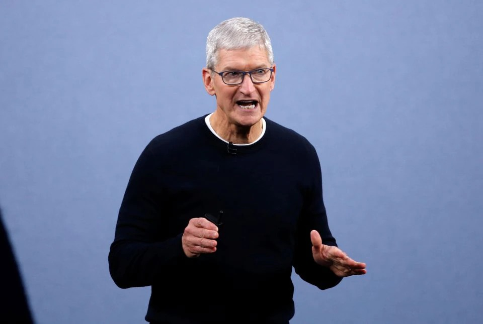 Apple's Cook says proposed EU tech rules threaten security of iPhones