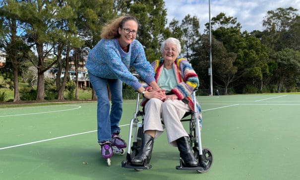 'Never too late to roller-skate': lessons from living with a 92-year-old