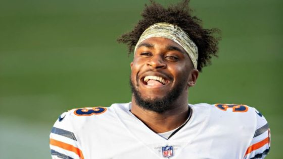 """Jaylon Johnson: Shoulder 100 percent, mind """"at ease"""" in second year with Bears"""