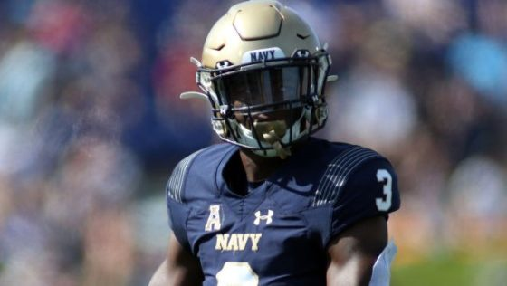 Cameron Kinley still preparing for the NFL in hopes Navy will allow him to delay service